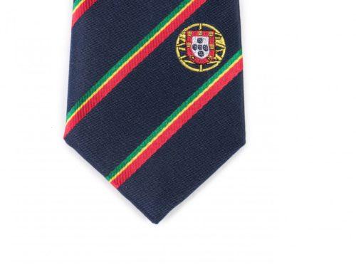 Portugal Skinny Tie