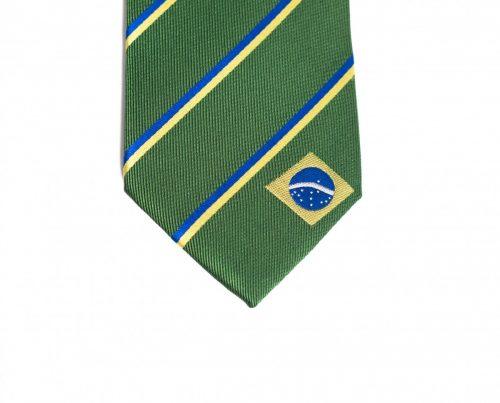 Brazil Skinny Tie