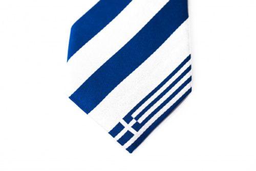 Greece Skinny Tie