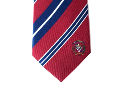 Dominican Republic Skinny Tie