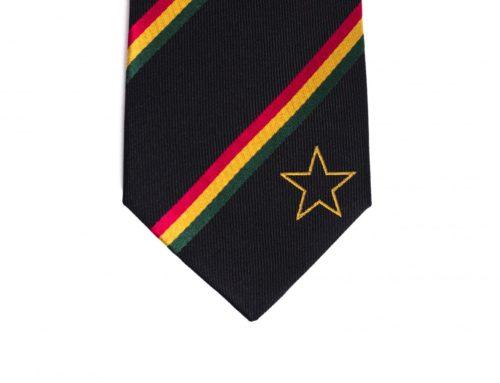 Ghana Skinny Tie