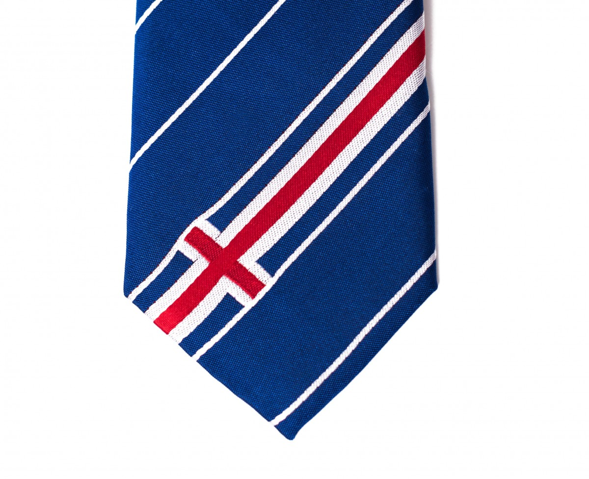 Iceland Skinny Tie