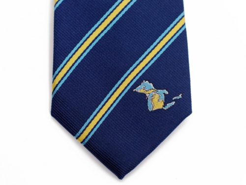 Michigan Skinny Tie
