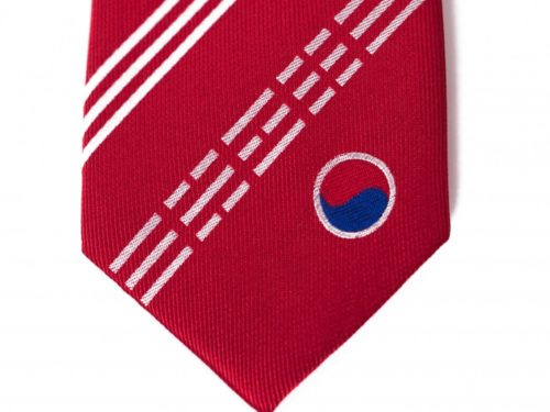 South Korea Skinny Tie