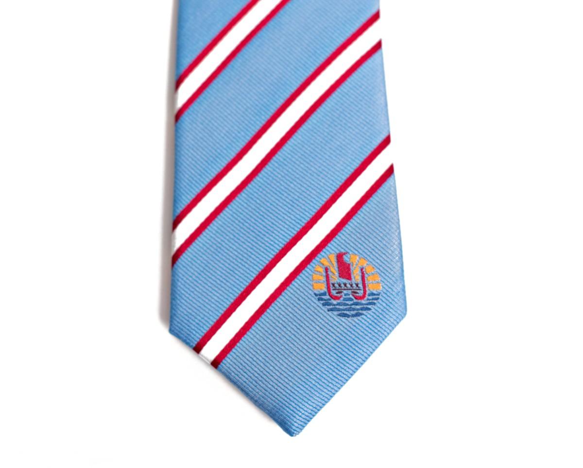 French Polynesia Skinny Tie
