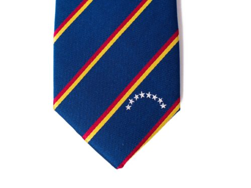 Venezuela Skinny Tie