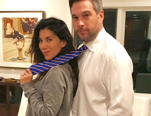 Haute Mom's Life – Adrianna Costa – Talking About Our Ties!