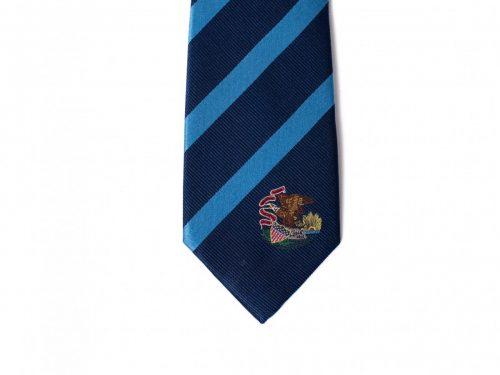 Illinois Skinny Tie