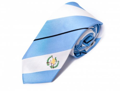 The President of Guatemala Wears our Guatemala Tie!