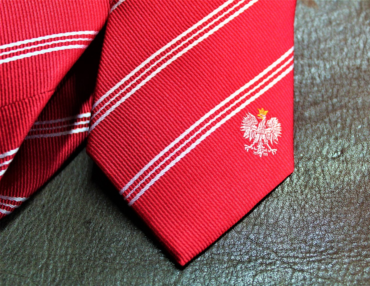 Poland Skinny Tie