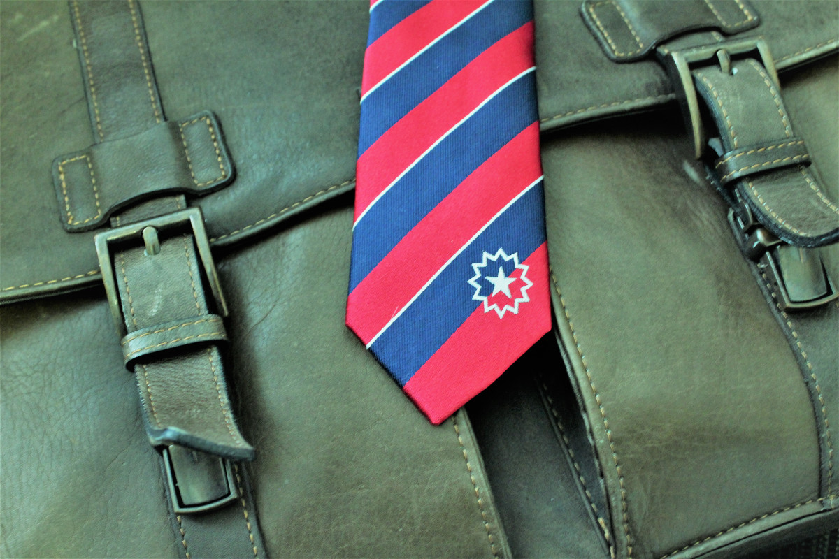 Juneteenth Skinny Tie