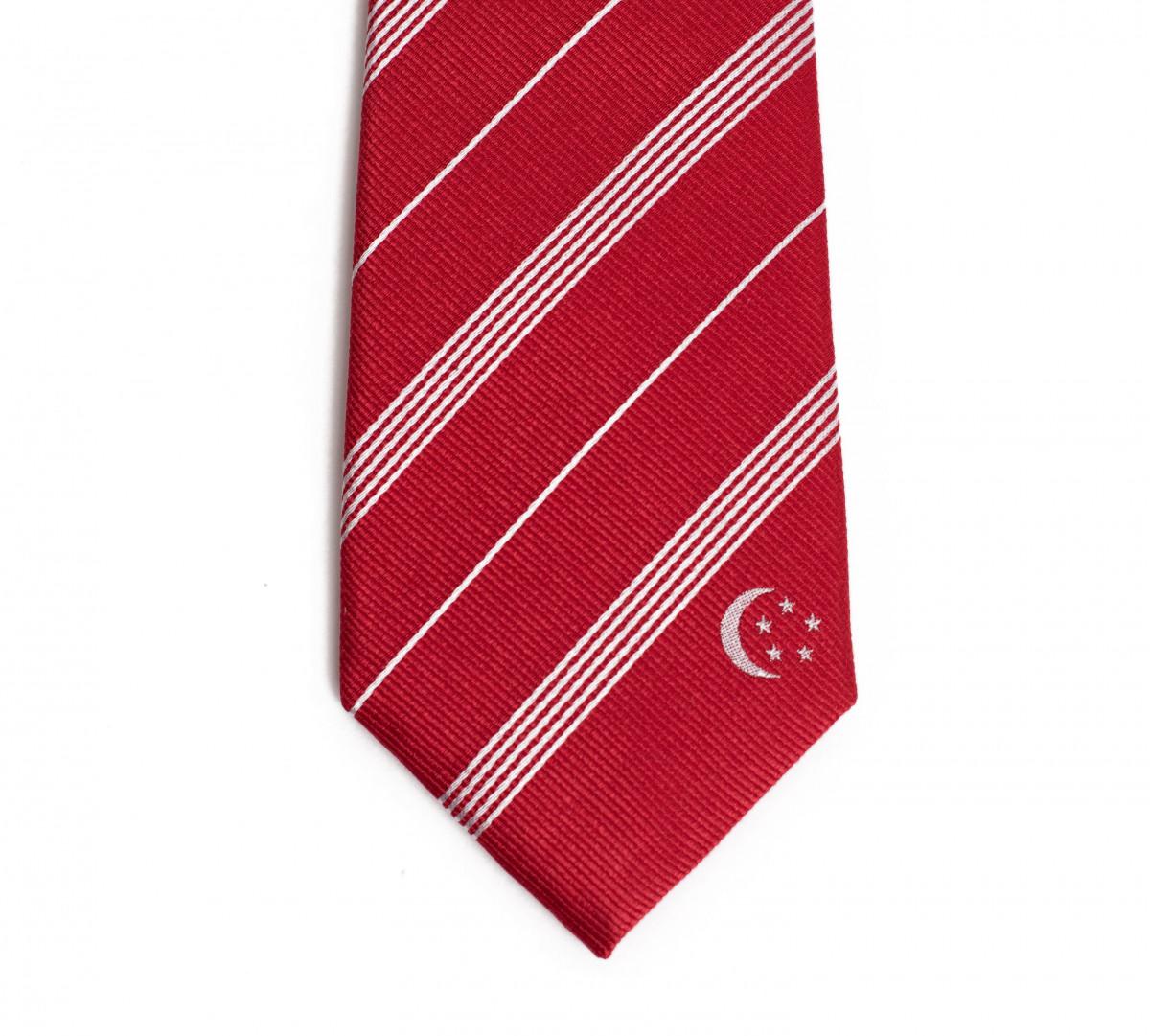 Singapore Skinny Tie